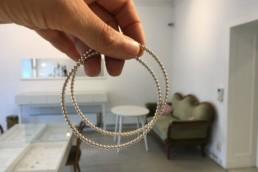 Kugelarmreifen in Silber