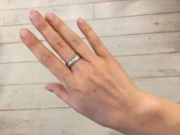 Ossa-Sepia Ring mit Verlobungsring