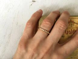 Ring in Gold mit 7 Brillanten